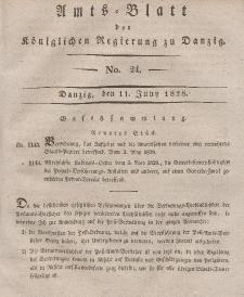 Amts-Blatt der Königlichen Regierung zu Danzig, 11. Juni 1828, Nr. 24
