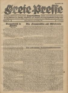 Freie Presse, Nr. 63 Mittwoch 14. März 1928 4. Jahrgang