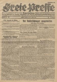 Freie Presse, Nr. 65 Freitag 16. März 1928 4. Jahrgang