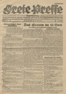 Freie Presse, Nr. 69 Mittwoch 21. März 1928 4. Jahrgang