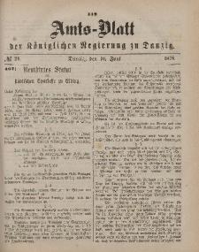 Amts-Blatt der Königlichen Regierung zu Danzig, 10. Juni 1876, Nr. 24