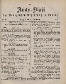 Amts-Blatt der Königlichen Regierung zu Danzig, 9. Dezember 1876, Nr. 50