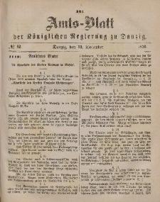 Amts-Blatt der Königlichen Regierung zu Danzig, 23. Dezember 1876, Nr. 52