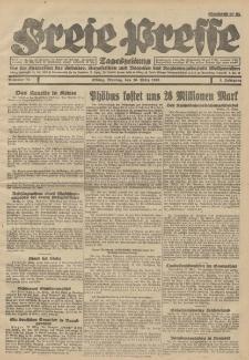 Freie Presse, Nr. 73 Montag 26. März 1928 4. Jahrgang