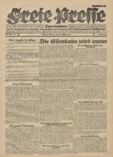 Freie Presse, Nr. 77 Freitag 30. März 1928 4. Jahrgang
