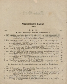 Amts-Blatt der Königlichen Regierung zu Danzig (Chronologisches Register)