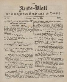 Amts-Blatt der Königlichen Regierung zu Danzig, 17. Mai 1873, Nr. 20