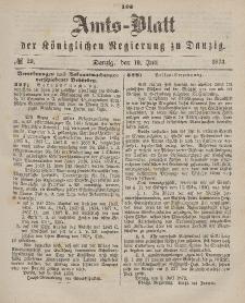 Amts-Blatt der Königlichen Regierung zu Danzig, 19. Juli 1873, Nr. 29