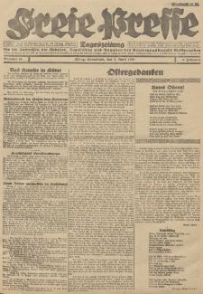 Freie Presse, Nr. 83 Sonnabend 7. April 1928 4. Jahrgang