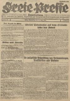 Freie Presse, Nr. 86 Donnerstag 12. April 1928 4. Jahrgang