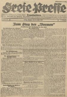 Freie Presse, Nr. 89 Montag 16. April 1928 4. Jahrgang