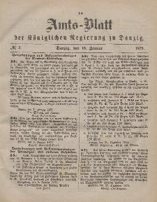 Amts-Blatt der Königlichen Regierung zu Danzig, 16. Januar 1875, Nr. 3