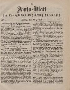 Amts-Blatt der Königlichen Regierung zu Danzig, 30. Januar 1875, Nr. 5