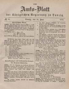 Amts-Blatt der Königlichen Regierung zu Danzig, 19. Juni 1875, Nr. 25