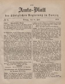 Amts-Blatt der Königlichen Regierung zu Danzig, 31. Juli 1875, Nr. 31