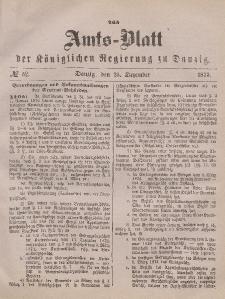 Amts-Blatt der Königlichen Regierung zu Danzig, 25. Dezember 1875, Nr. 52