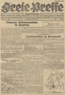 Freie Presse, Nr. 96 Dienstag 24. April 1928 4. Jahrgang