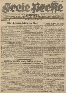 Freie Presse, Nr. 100 Sonnabend 28. April 1928 4. Jahrgang