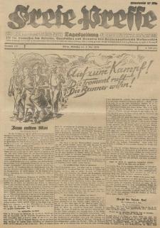 Freie Presse, Nr. 101 Dienstag 1. Mai 1928 4. Jahrgang