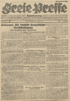 Freie Presse, Nr. 105 Sonnabend 5. Mai 1928 4. Jahrgang