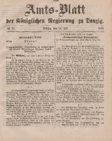 Amts-Blatt der Königlichen Regierung zu Danzig, 14. Juli 1883, Nr. 28