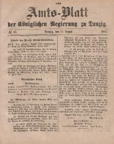 Amts-Blatt der Königlichen Regierung zu Danzig, 11. August 1883, Nr. 32