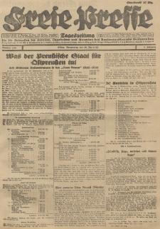Freie Presse, Nr. 109 Donnerstag 10. Mai 1928 4. Jahrgang