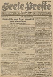 Freie Presse, Nr. 110 Freitag 11. Mai 1928 4. Jahrgang