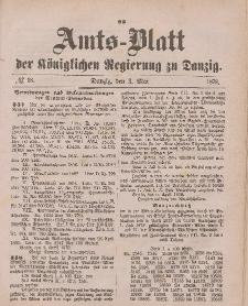 Amts-Blatt der Königlichen Regierung zu Danzig, 3. Mai 1879, Nr. 18