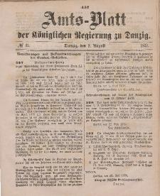 Amts-Blatt der Königlichen Regierung zu Danzig, 2. August 1879, Nr. 31