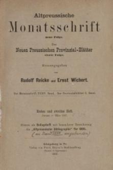 Altpreussische Monatsschrift, 1897, Bd. 34