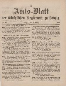 Amts-Blatt der Königlichen Regierung zu Danzig, 8. März 1884, Nr. 10