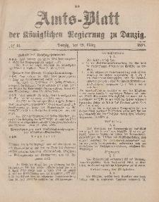 Amts-Blatt der Königlichen Regierung zu Danzig, 29. März 1884, Nr. 13