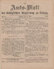 Amts-Blatt der Königlichen Regierung zu Danzig, 21. Juni 1884, Nr. 25