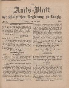 Amts-Blatt der Königlichen Regierung zu Danzig, 28. Juni 1884, Nr. 26