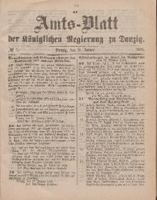 Amts-Blatt der Königlichen Regierung zu Danzig, 31. Januar 1885, Nr. 5