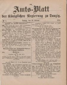 Amts-Blatt der Königlichen Regierung zu Danzig, 21. Februar 1885, Nr. 8