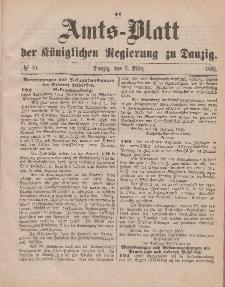 Amts-Blatt der Königlichen Regierung zu Danzig, 7. März 1885, Nr. 10
