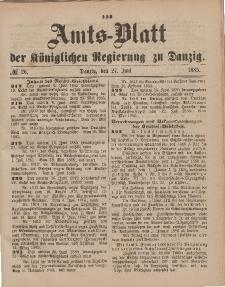 Amts-Blatt der Königlichen Regierung zu Danzig, 27. Juni 1885, Nr. 26