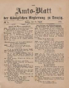 Amts-Blatt der Königlichen Regierung zu Danzig, 29. August 1885, Nr. 35