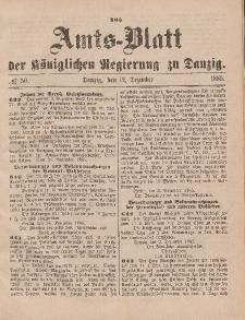 Amts-Blatt der Königlichen Regierung zu Danzig, 12. Dezember 1885, Nr. 50