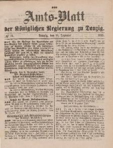 Amts-Blatt der Königlichen Regierung zu Danzig, 19. Dezember 1885, Nr. 51