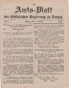Amts-Blatt der Königlichen Regierung zu Danzig, 21. Februar 1880, Nr. 8