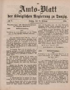 Amts-Blatt der Königlichen Regierung zu Danzig, 28. Februar 1880, Nr. 9
