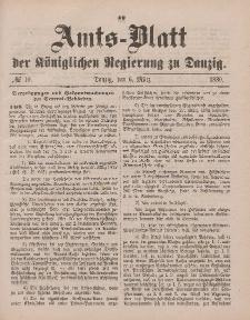 Amts-Blatt der Königlichen Regierung zu Danzig, 6. März 1880, Nr. 10