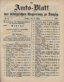 Amts-Blatt der Königlichen Regierung zu Danzig, 13. März 1880, Nr. 11