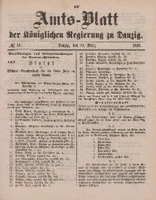 Amts-Blatt der Königlichen Regierung zu Danzig, 20. März 1880, Nr. 12