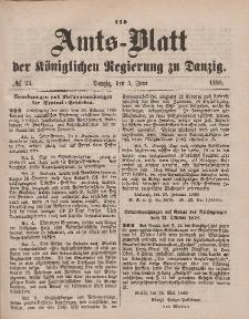 Amts-Blatt der Königlichen Regierung zu Danzig, 5. Juni 1880, Nr. 23