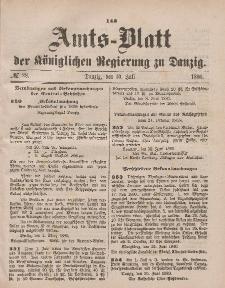 Amts-Blatt der Königlichen Regierung zu Danzig, 10. Juli 1880, Nr. 28