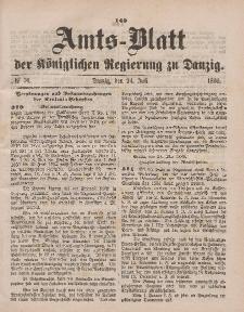 Amts-Blatt der Königlichen Regierung zu Danzig, 24. Juli 1880, Nr. 30